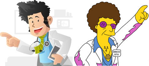 Knowmedge Mascot - Disco Stu?