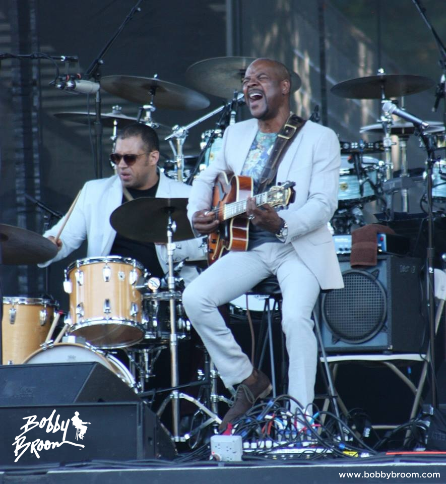 Bobby Broom at Marymoor Amphitheater in Redmond Washington