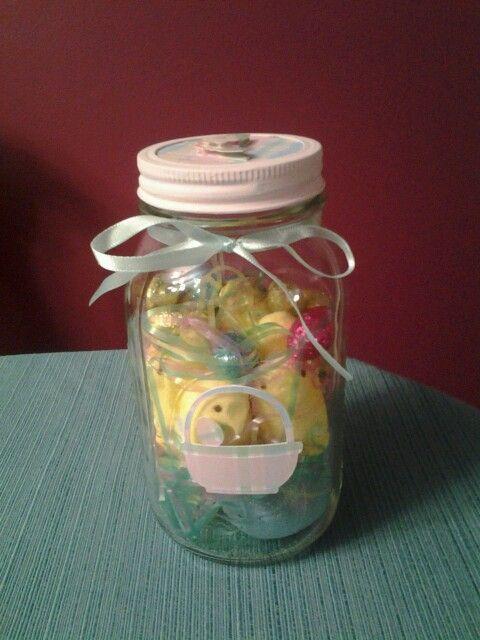 My easter crafts using mason jars easter jar crafts for Crafts using mason jars