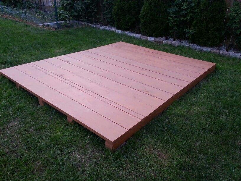 free floating pallet deck cool pinterest