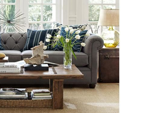 Gray Blue And Brown Together Love It Living Rooms Pinterest