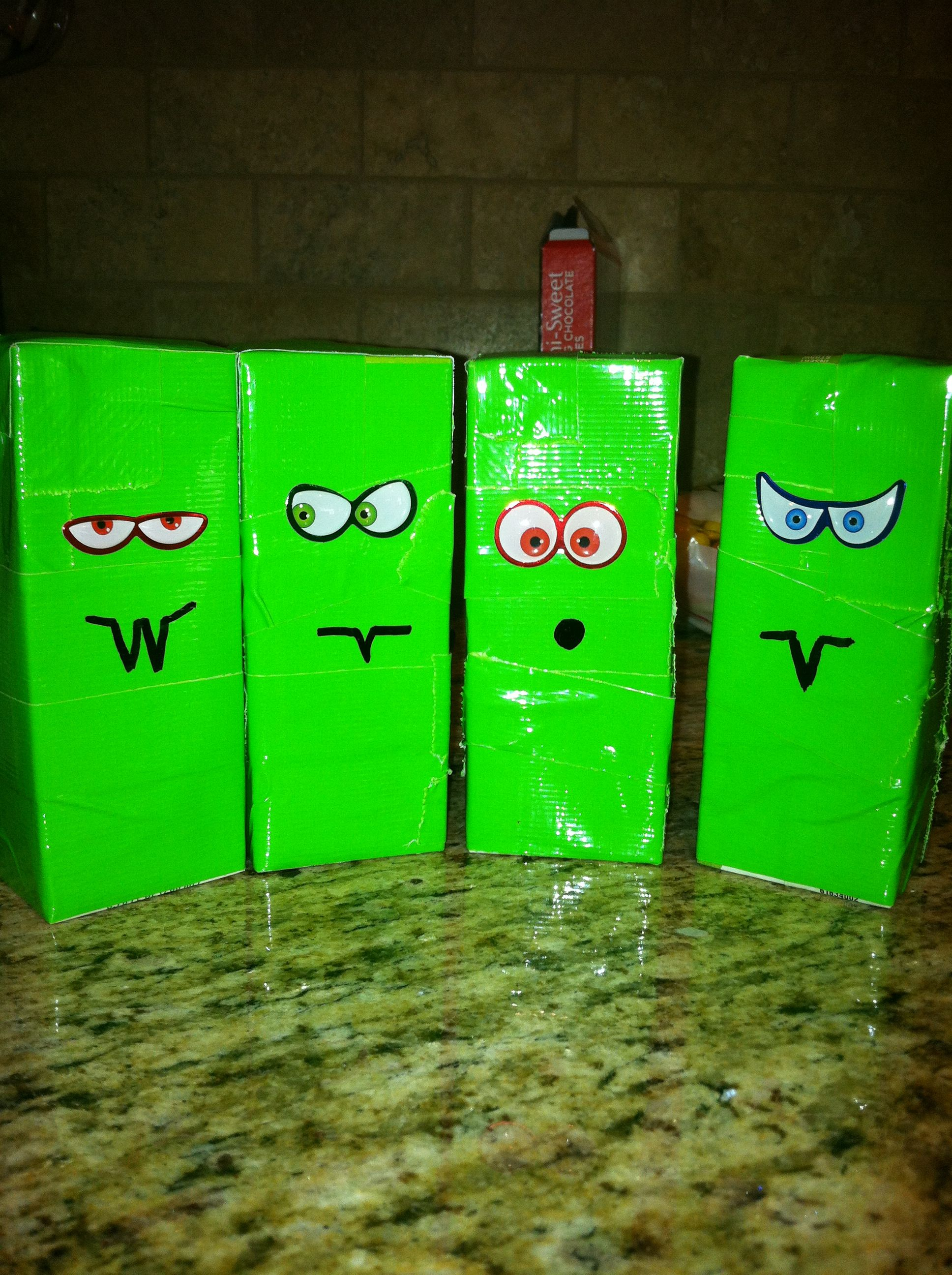 Monster juice boxes | Holidays | Pinterest