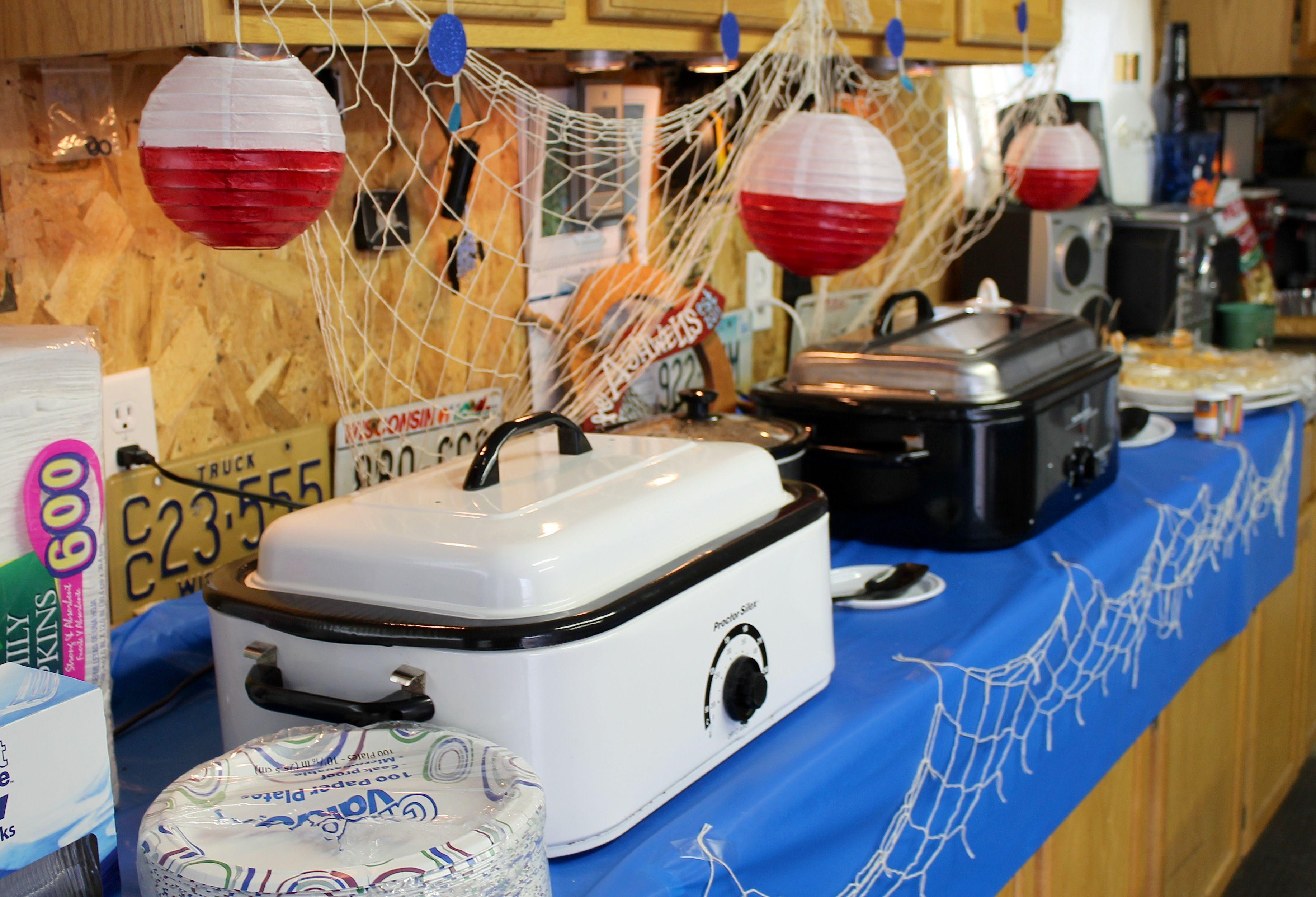 fish fry party ideas