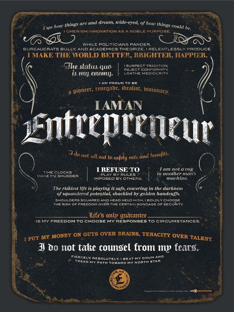 ShareI Am An Entrepreneur Quotes