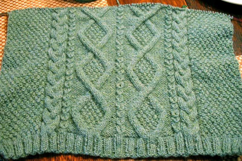 aran pattern Knitting Aran Pattern Inspiration Only ...