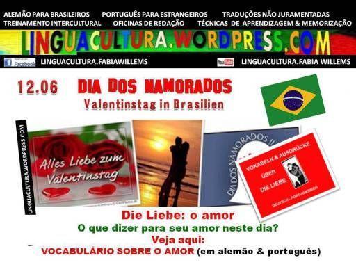 12.6: Dia dos namorados no Brasil - Vocabulário sobre o AMOR ...