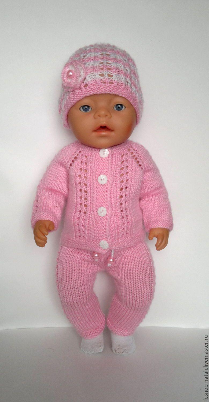 Вязание для куклы беби бона 961