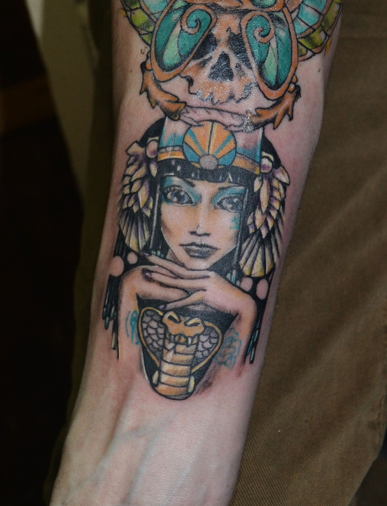 cleopatra egipt tattoo | For ro | Pinterest
