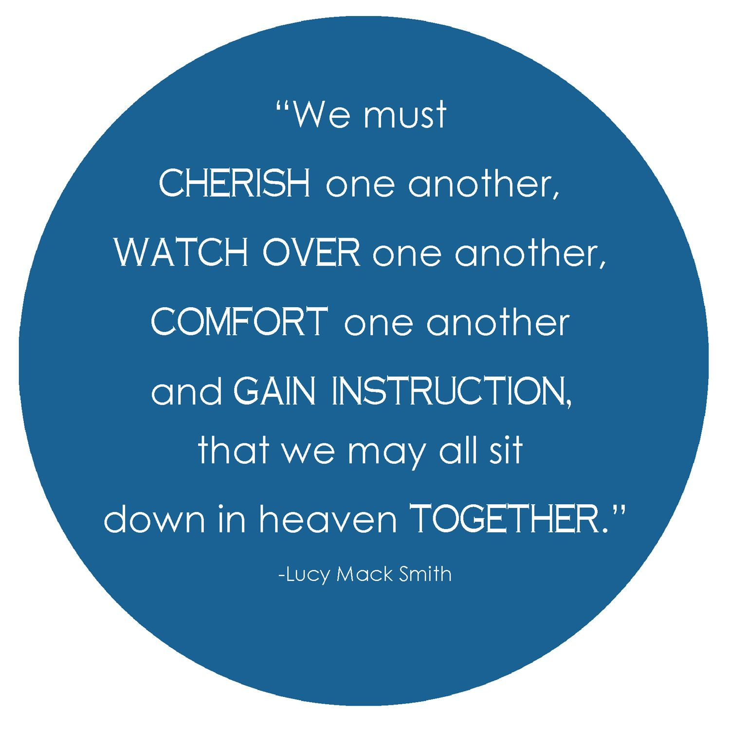 Quotes About Love One Another : Love One Another Lds Quotes. QuotesGram