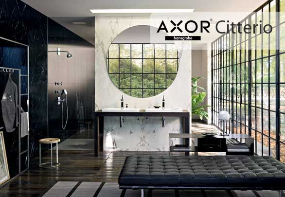 Axor Citterio accuracy, brightness and harmony are the elements that determine the value of the bath line and gives it that intended to to be obtained with water ritual character.