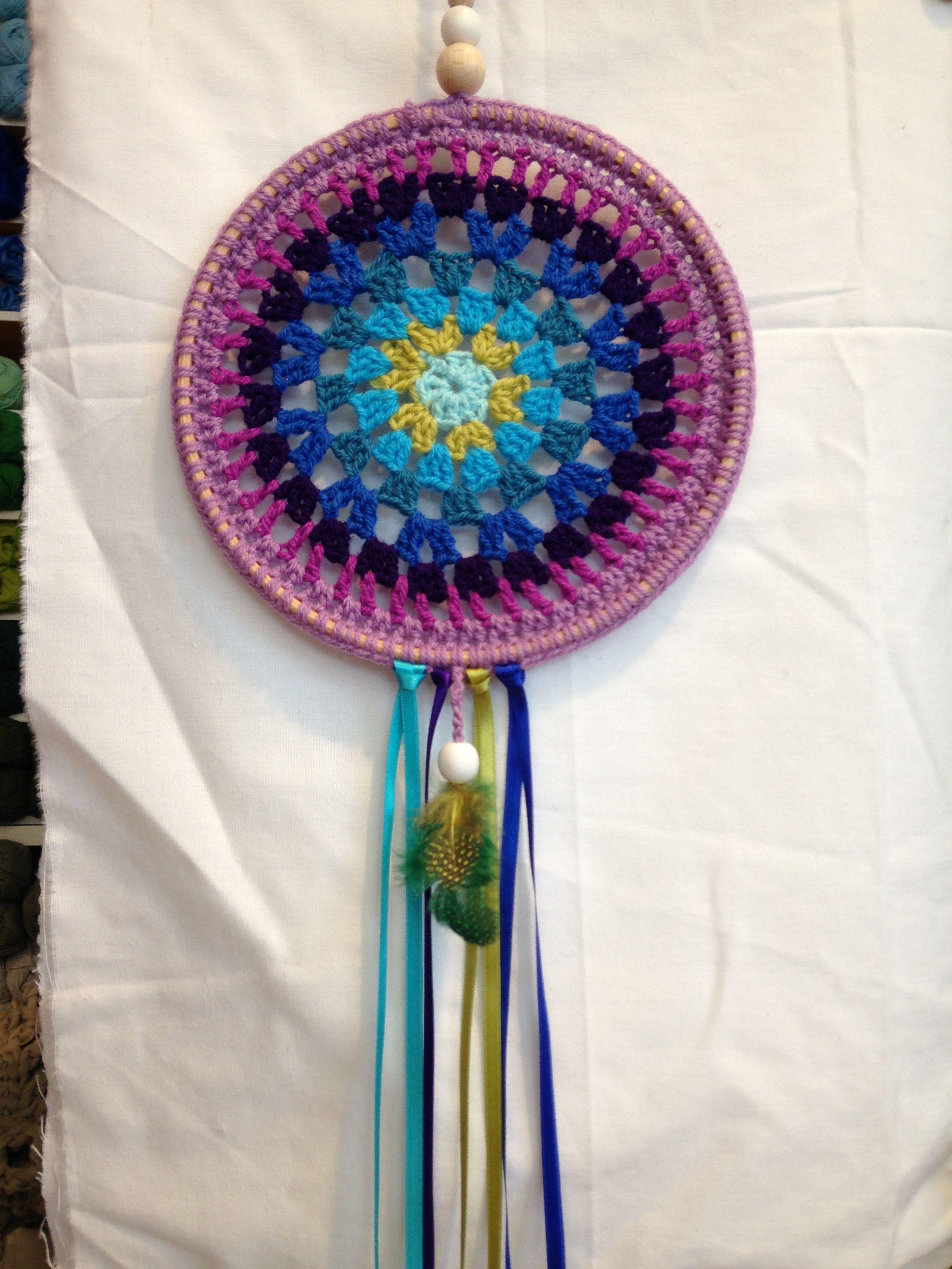 Dream catcher... Crochet Made by us Pinterest
