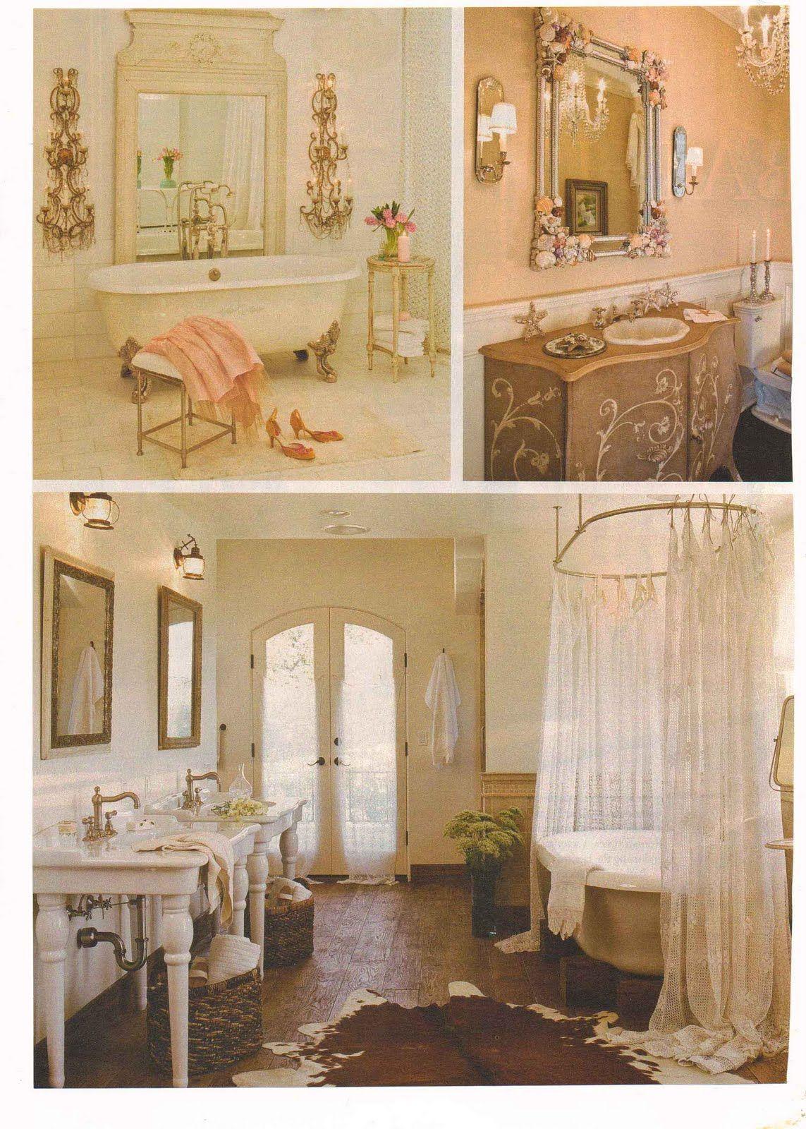 Cortinas De Baño Vintage:Bathroom – Vintage looking