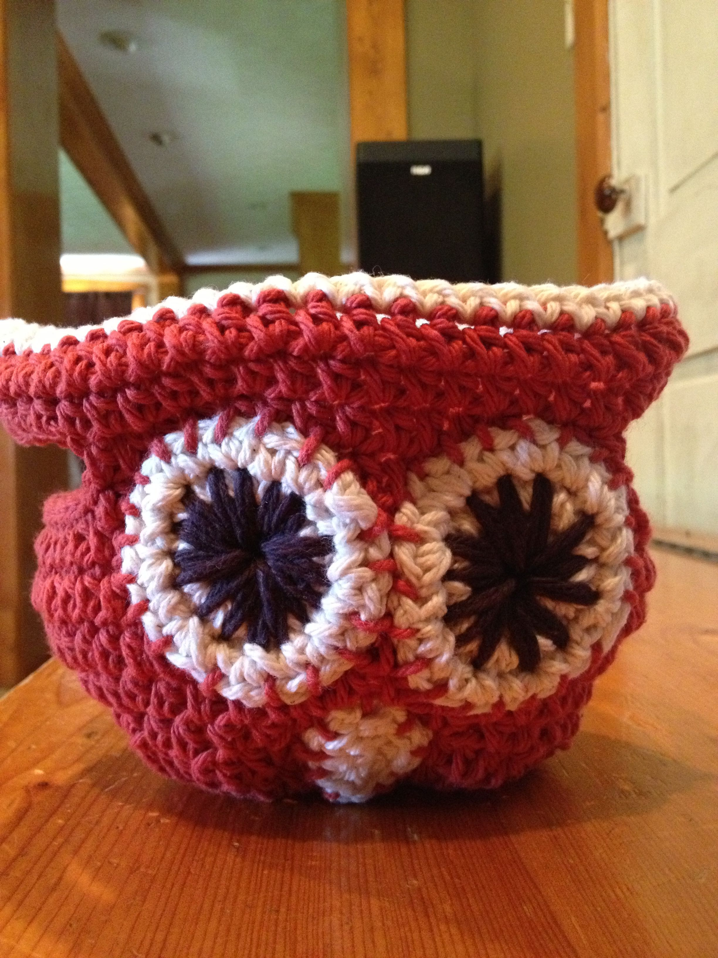 Crochet Owl Basket : Crochet owl basket crochet Pinterest