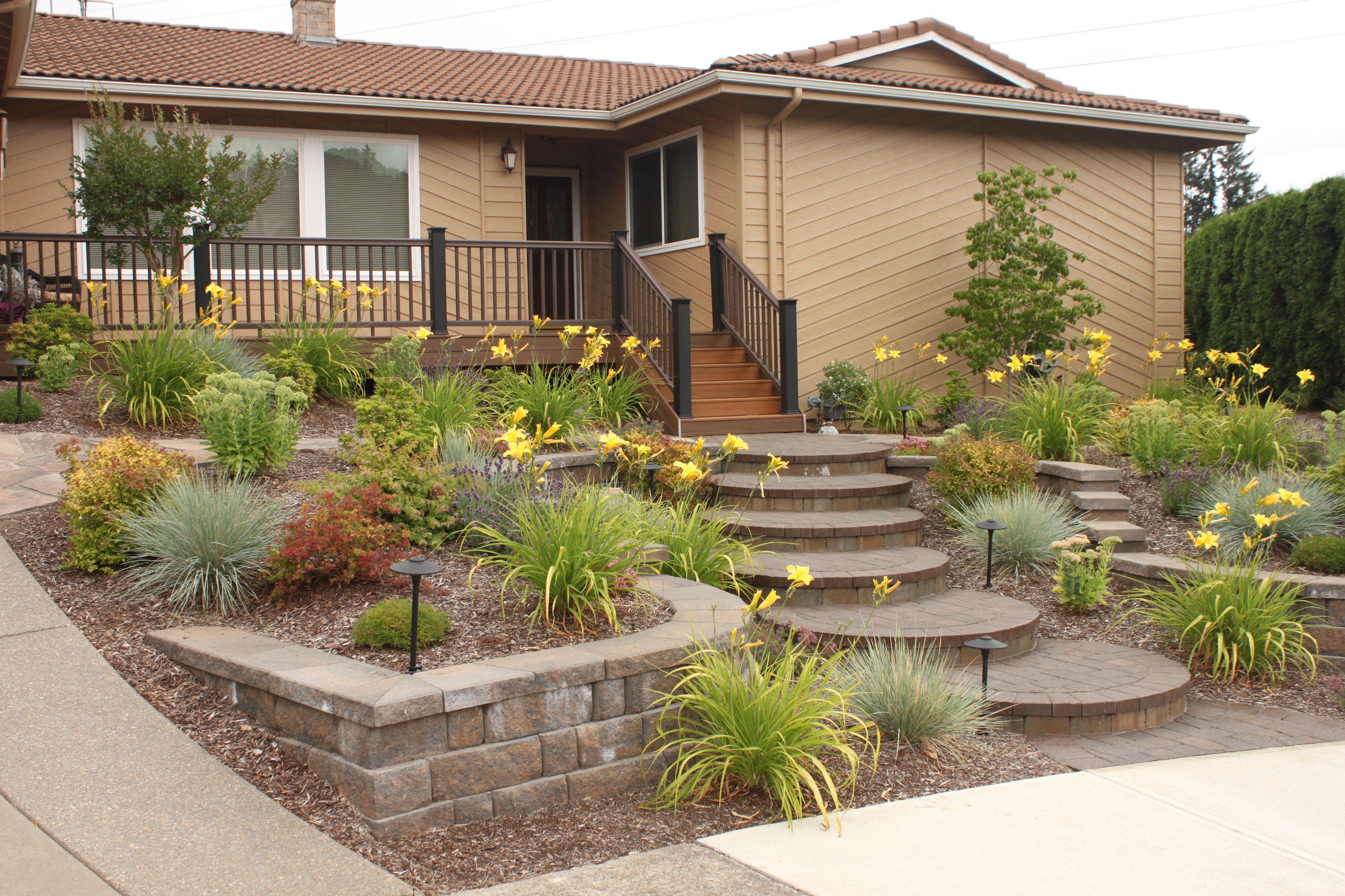 front yard makeover garden yard ideas pinterest