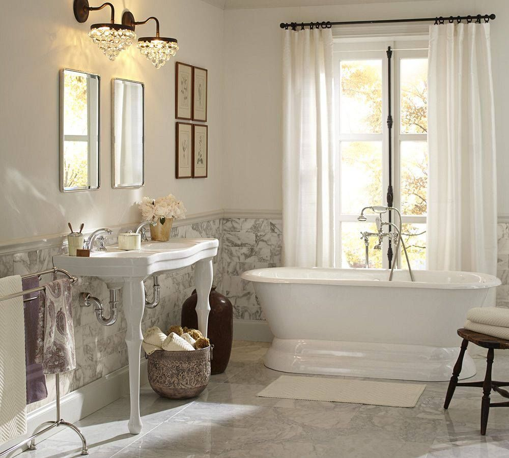 Pottery barn bathroom master bathroom pinterest Bath barn