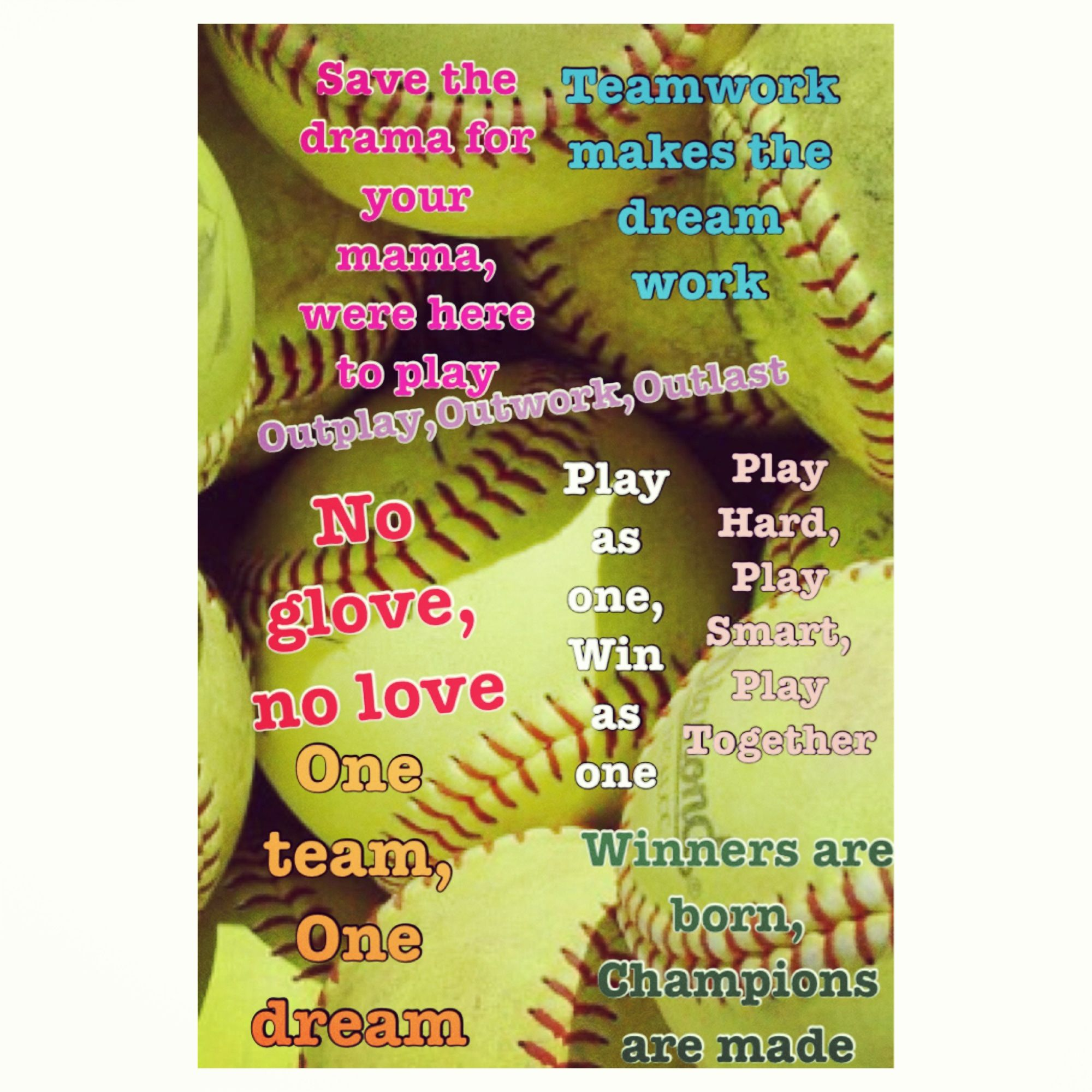 best softball quotes and sayings sports feel good stories