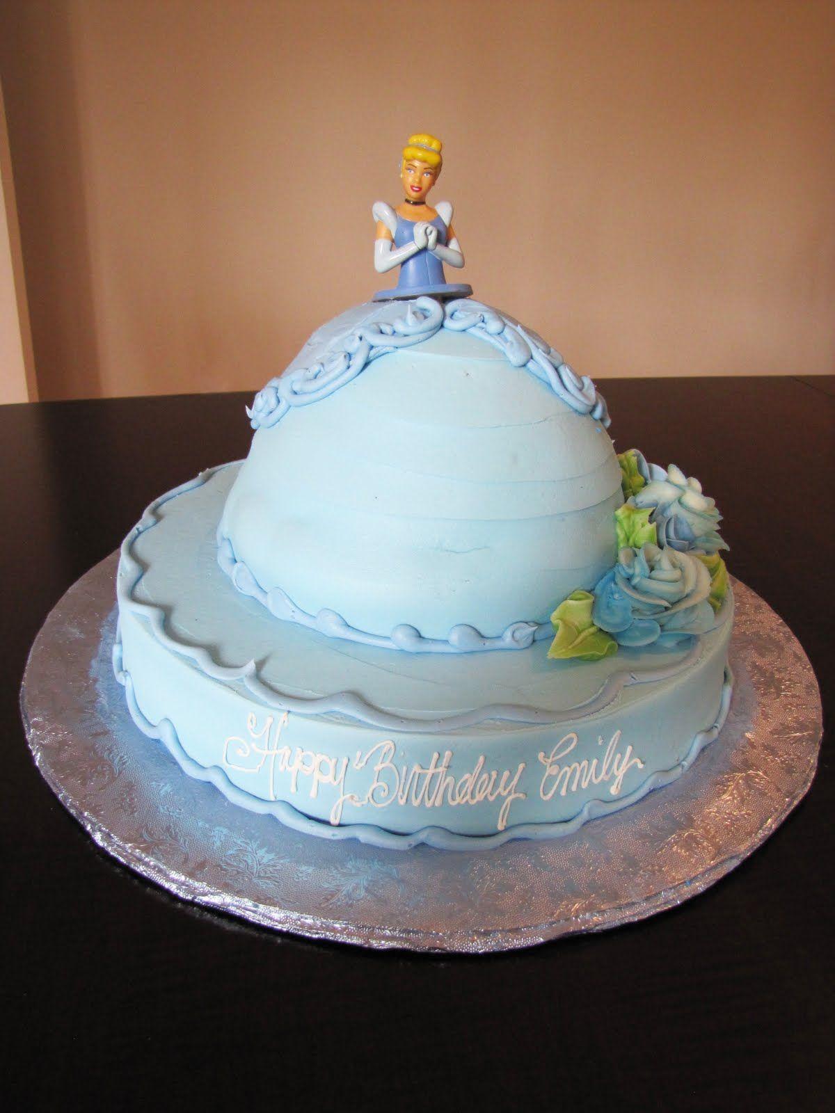 Cake Design Cinderella : Princess Cinderella Birthday Cake Cake ideas Pinterest