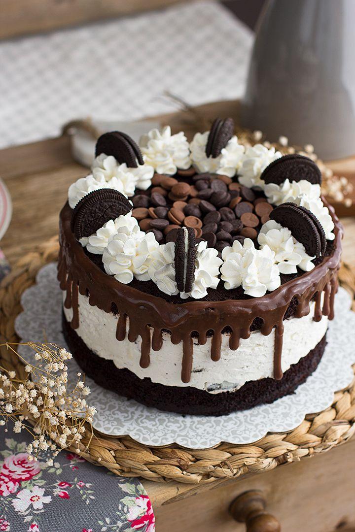 Receta De Tarta De Oreo Y Cheesecake Tartas Recetas De