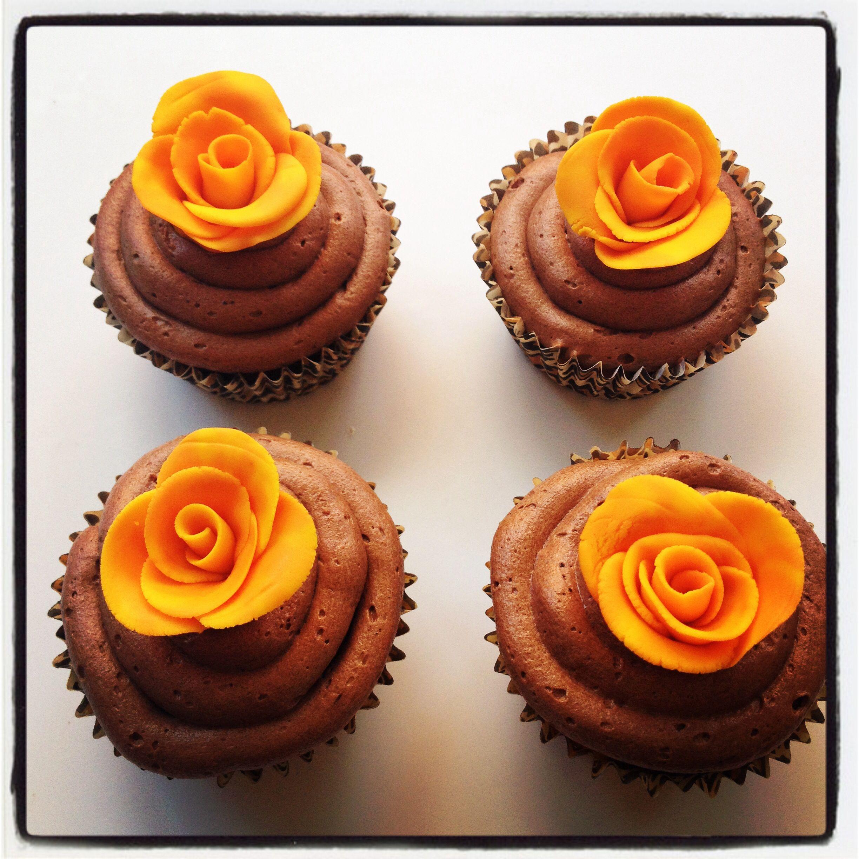 Chocolate orange cupcakes   cakes & cupcakes   Pinterest