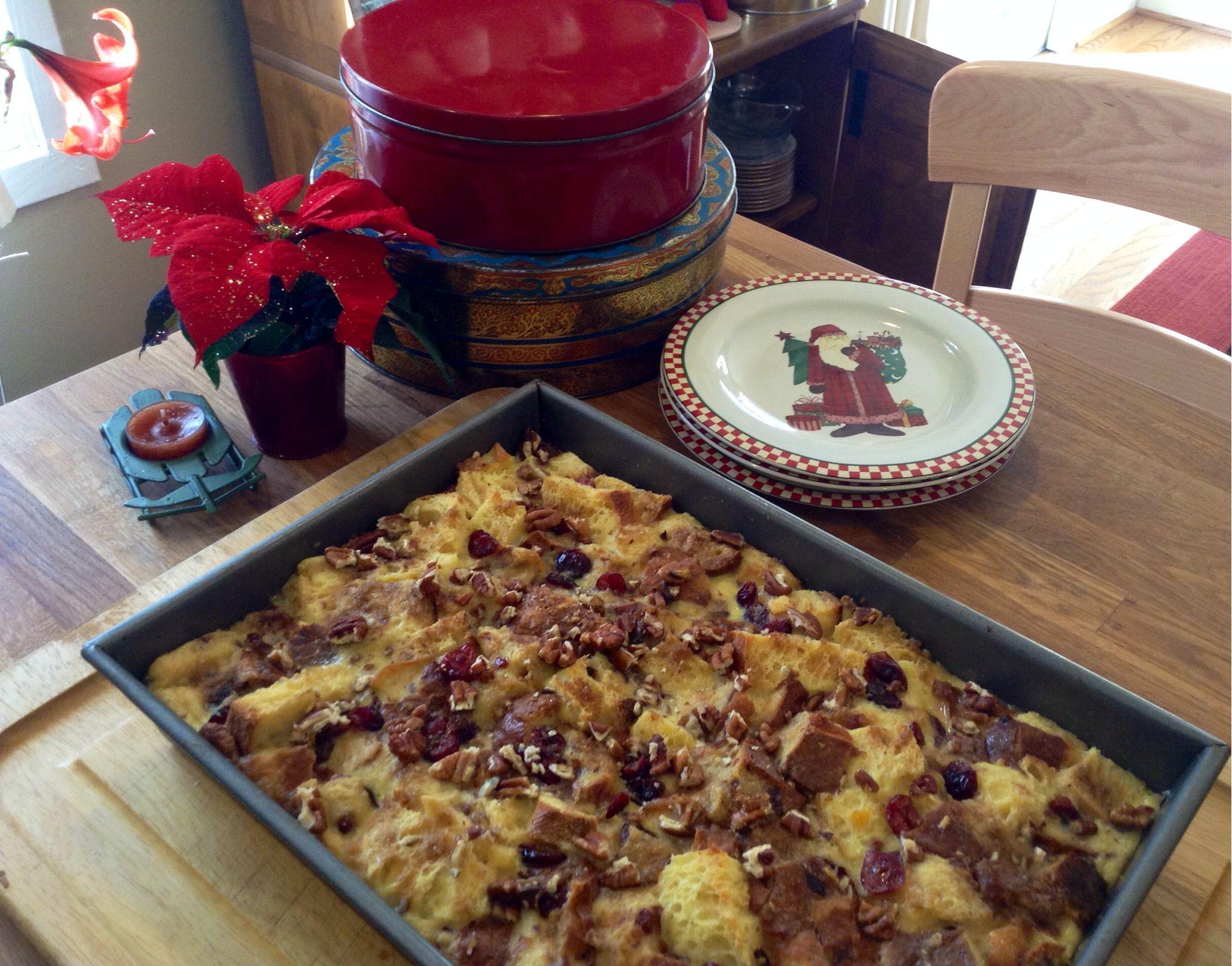 Christmas bread pudding   Christmas   Pinterest