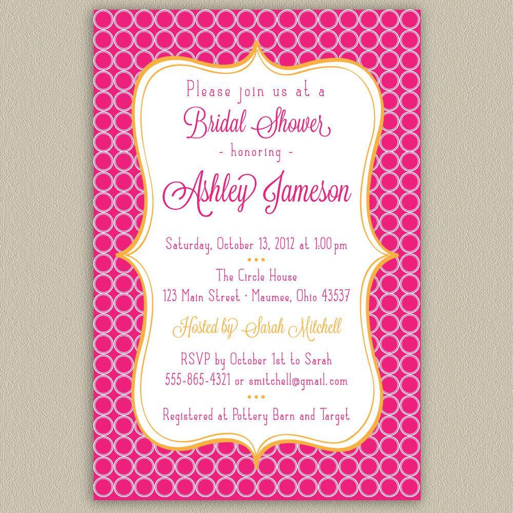 Bridal shower invitation printables pinterest for Bridal shower email invitations