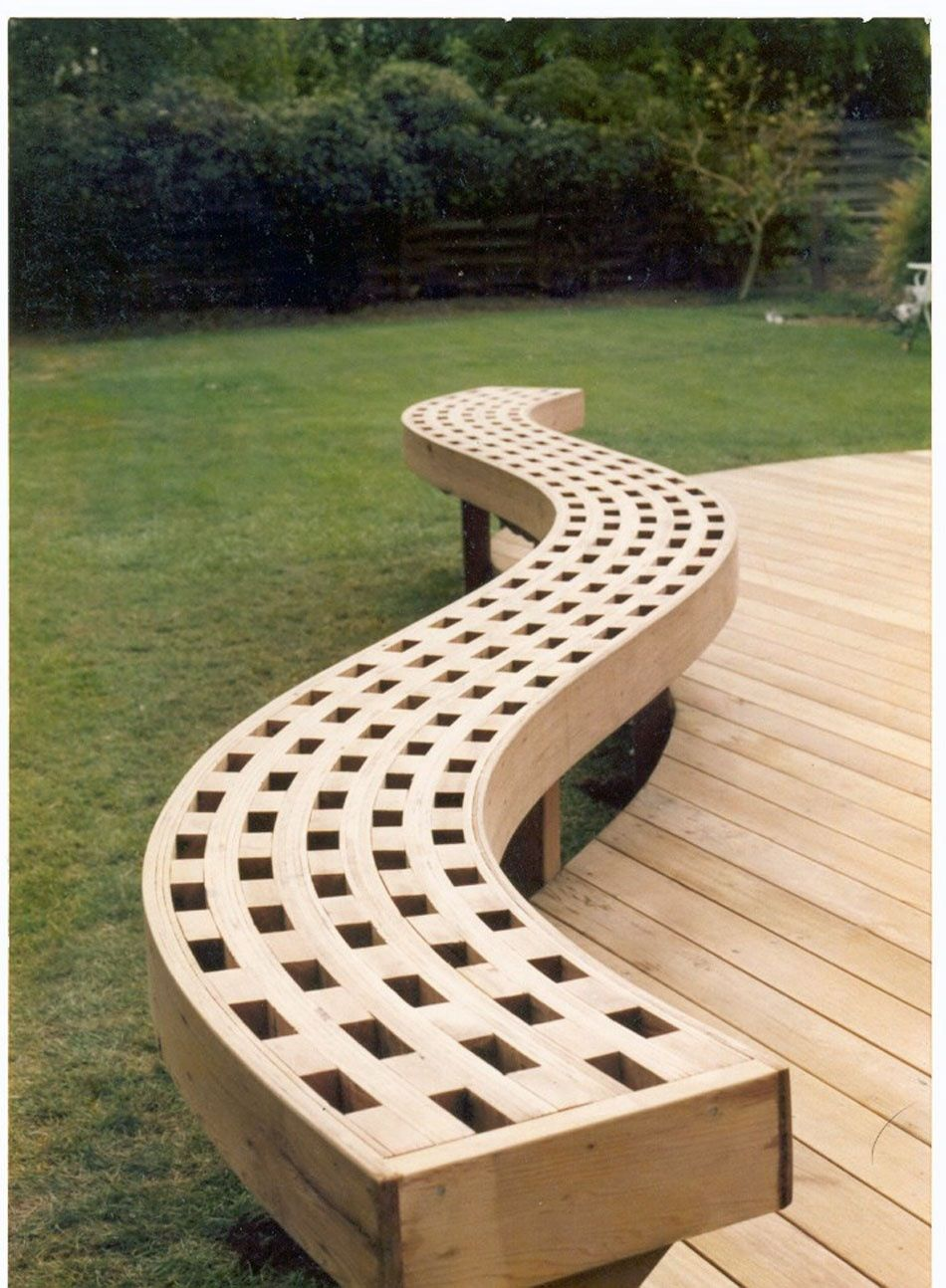 Bender Board Bench Deck Benches Pinterest