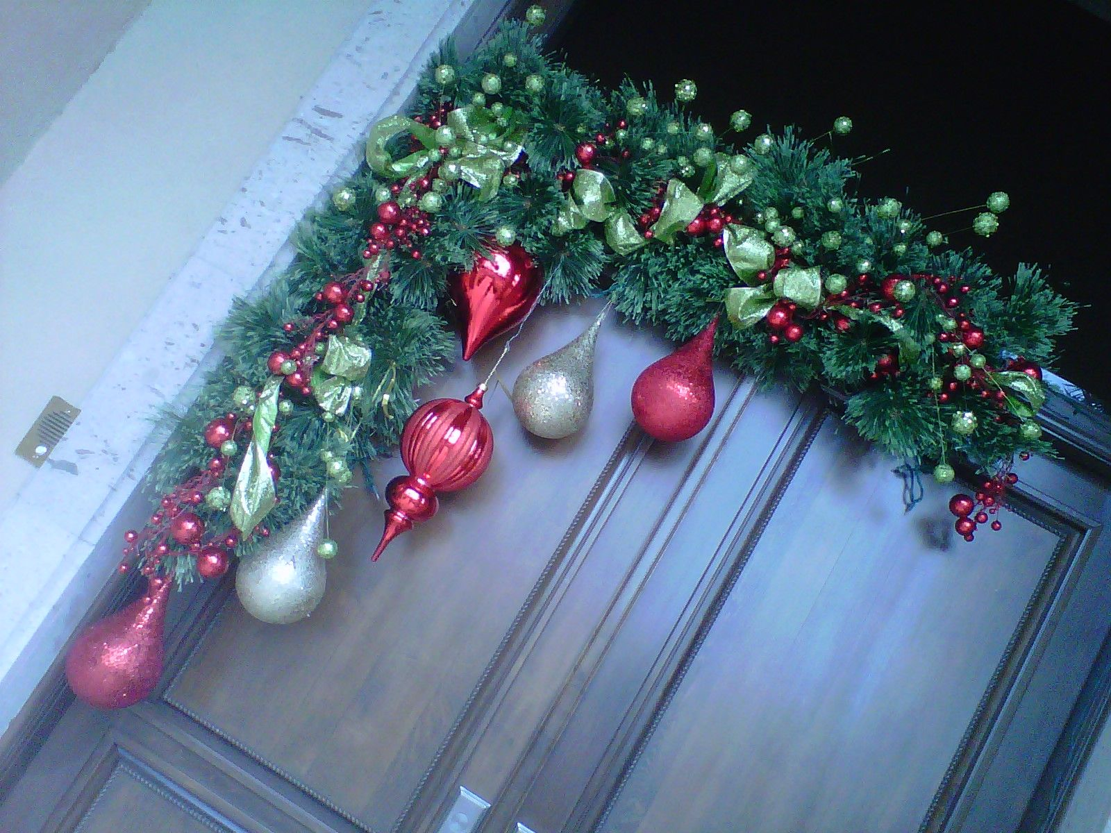 Navidad Decoracion De Puertas ~ mis decoraciones de navidad  fall decor  Pinterest