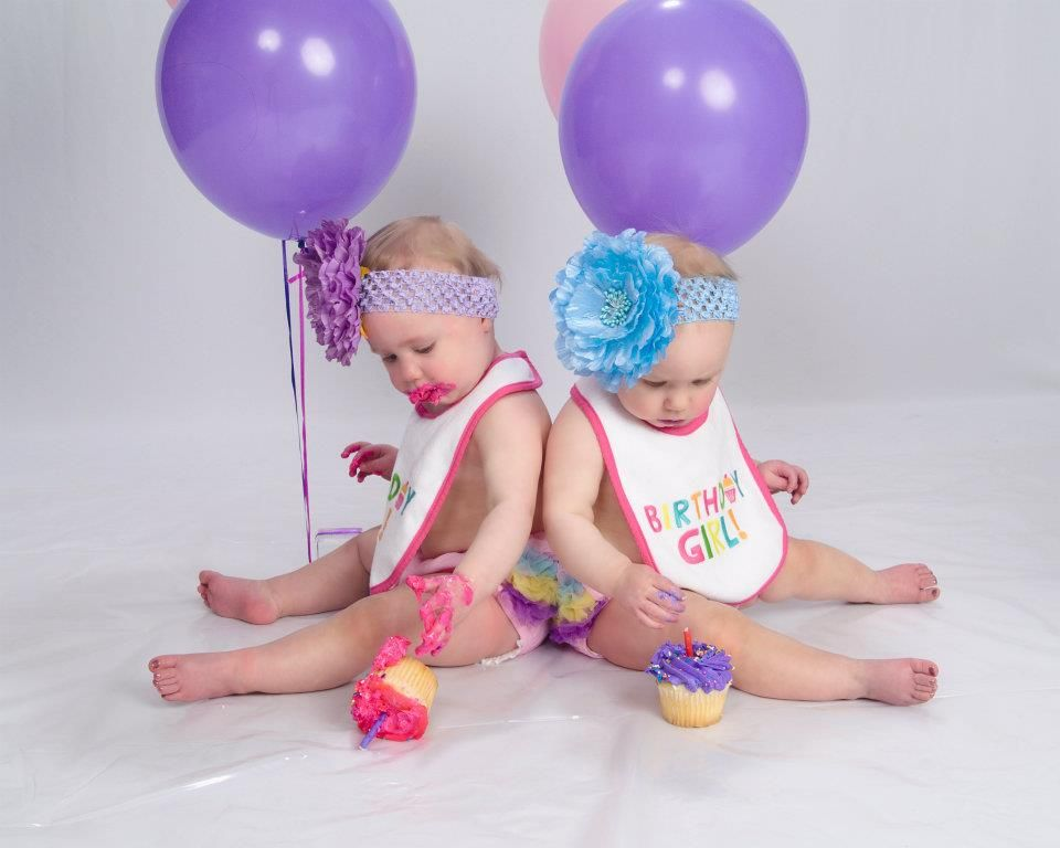 First birthday ideas  Our twins!