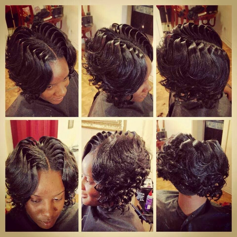 Quick weave bob hair styles Pinterest - Cute Sew In Hairstyles
