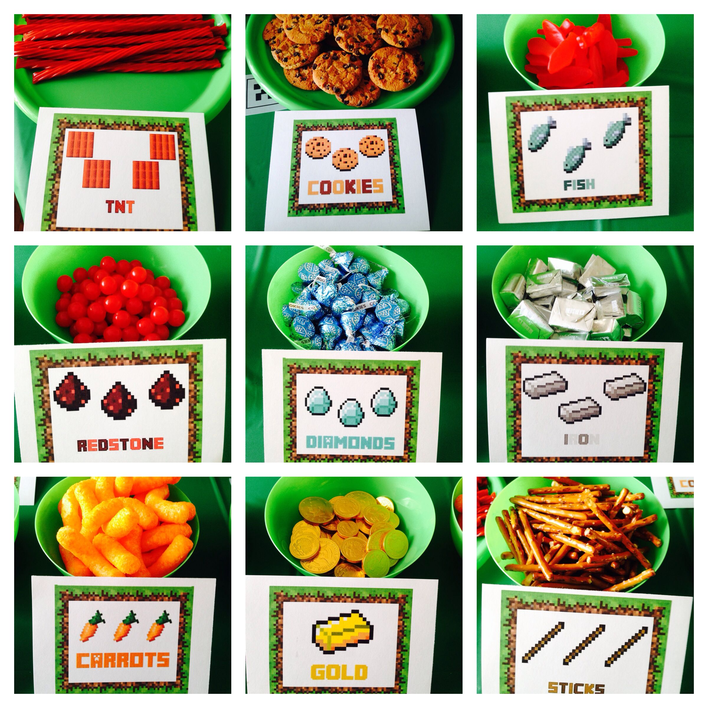 Minecraft Food And Items