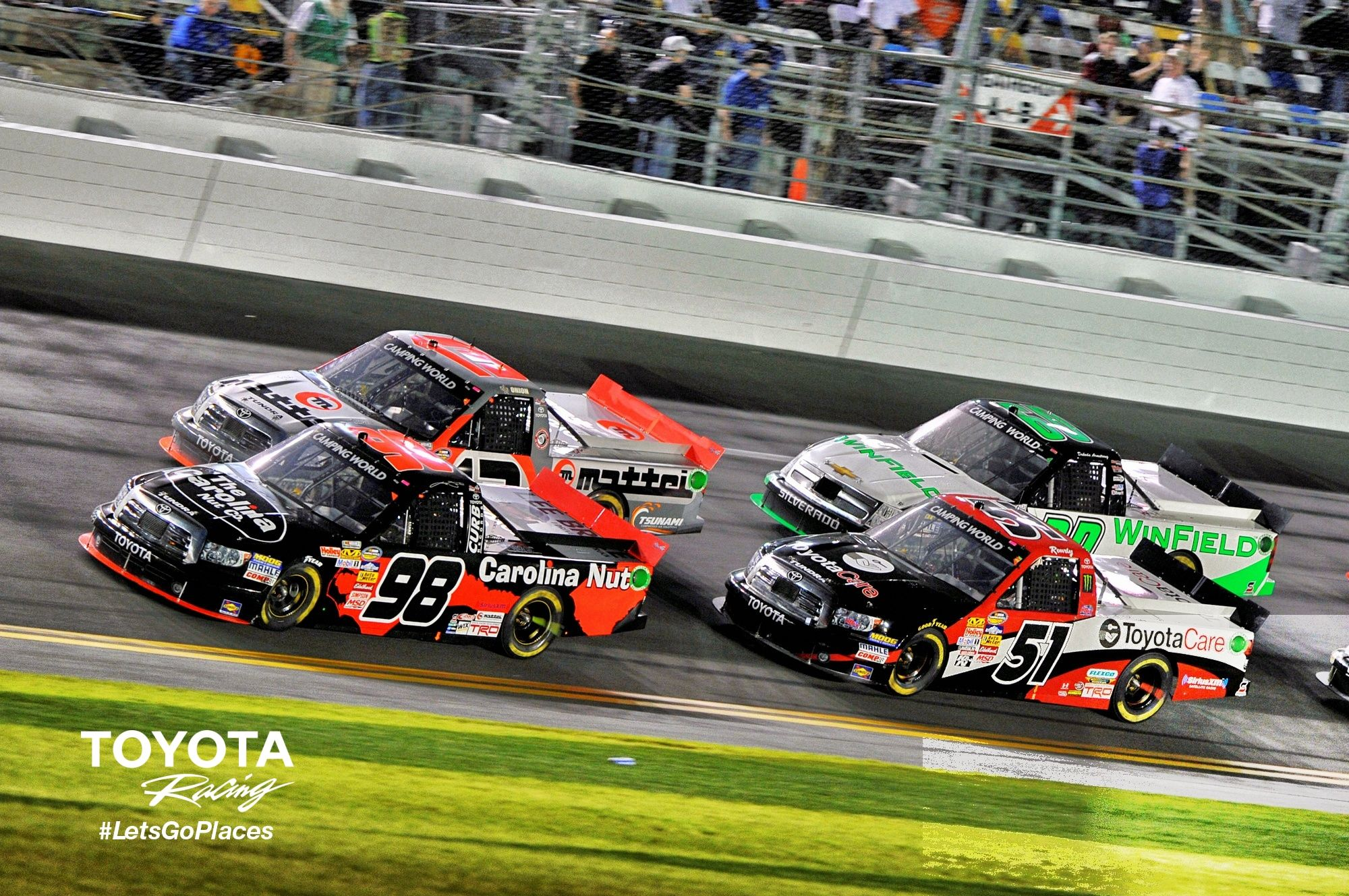 nascar camping world truck series live timing