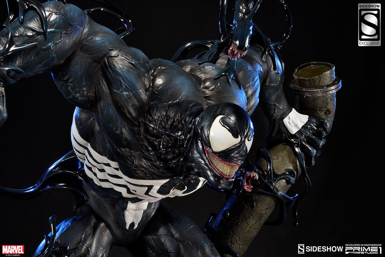 Venom Dark Origins Statue Marvel And Sideshow