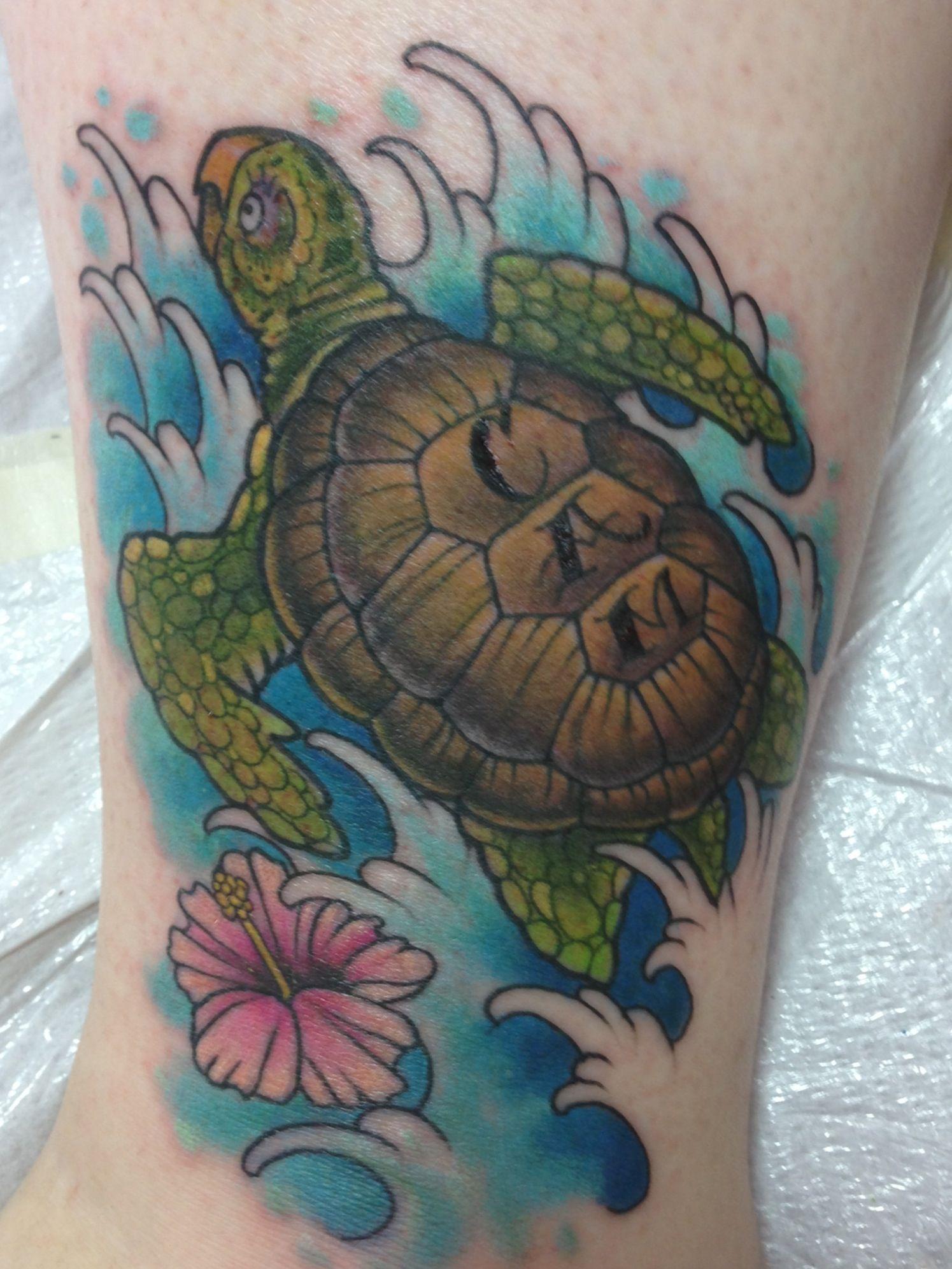 my new sea turtle tattoo holes ink pinterest. Black Bedroom Furniture Sets. Home Design Ideas