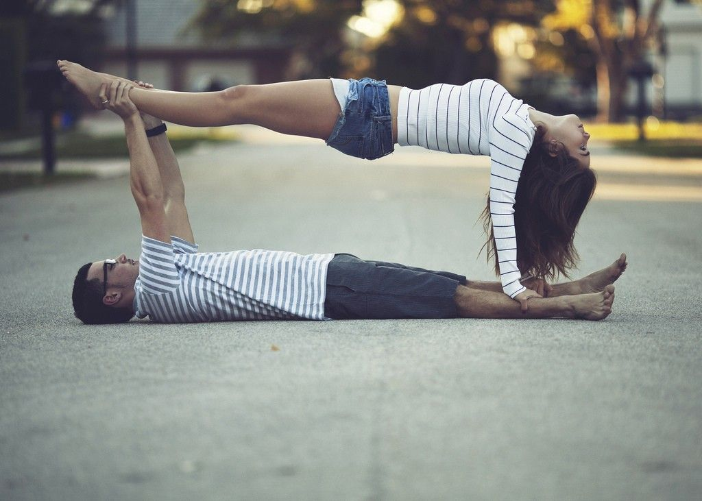 17 Best Images About Yoga Challenge On Poses For Two People