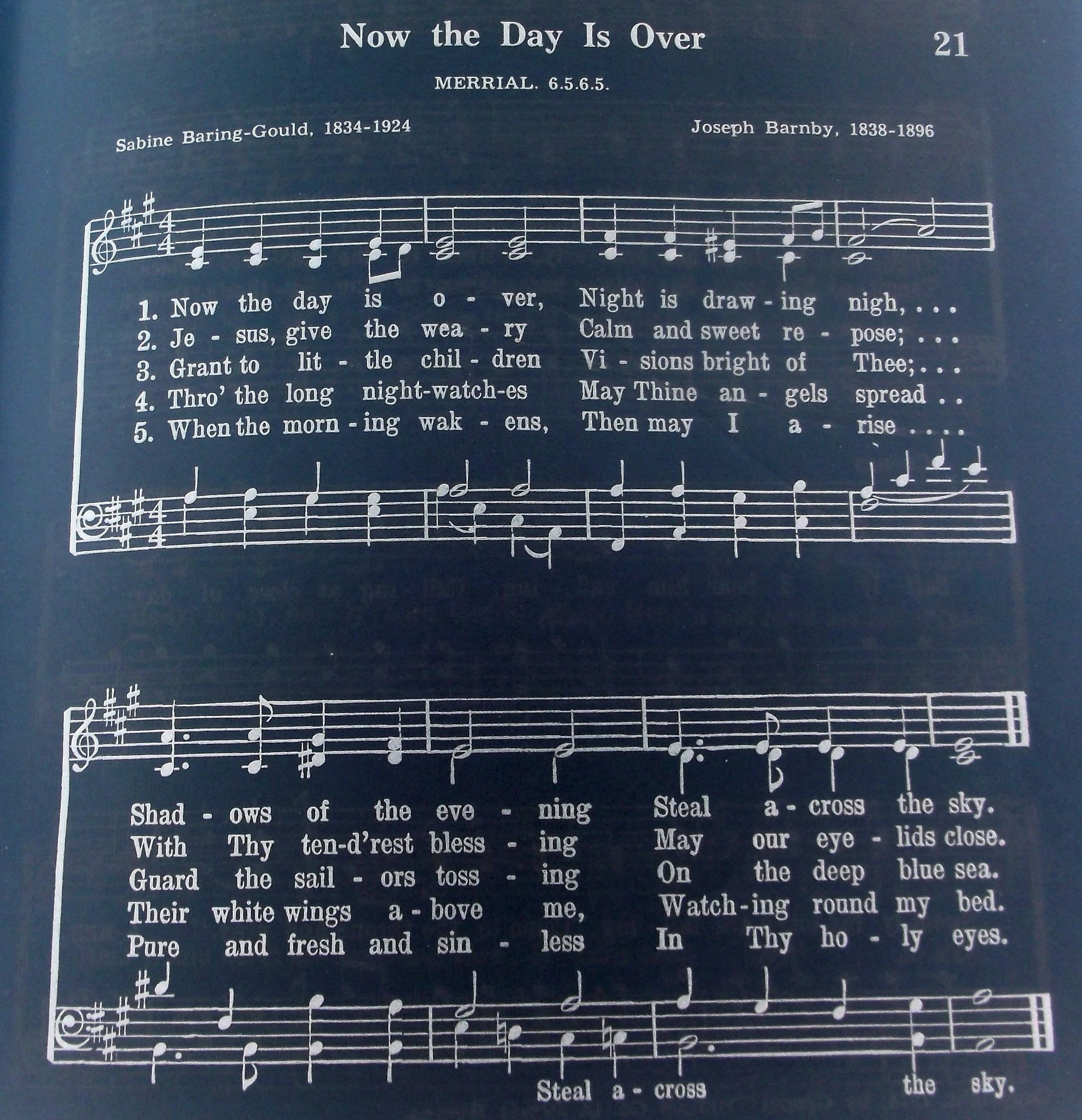 traditional hymns for father's day