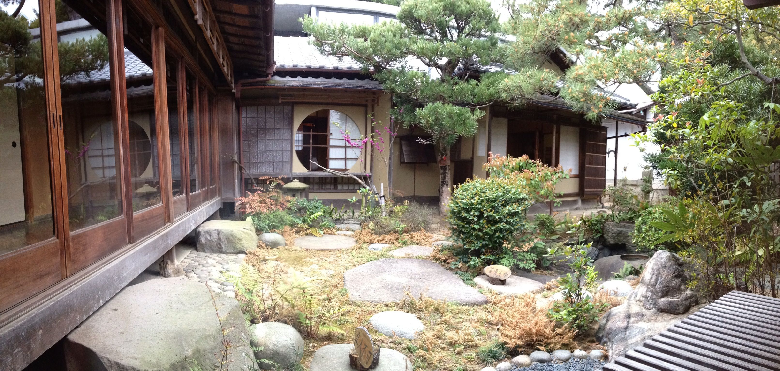 Traditional japanese home garden tiny house pinterest - Traditional japanese house ...