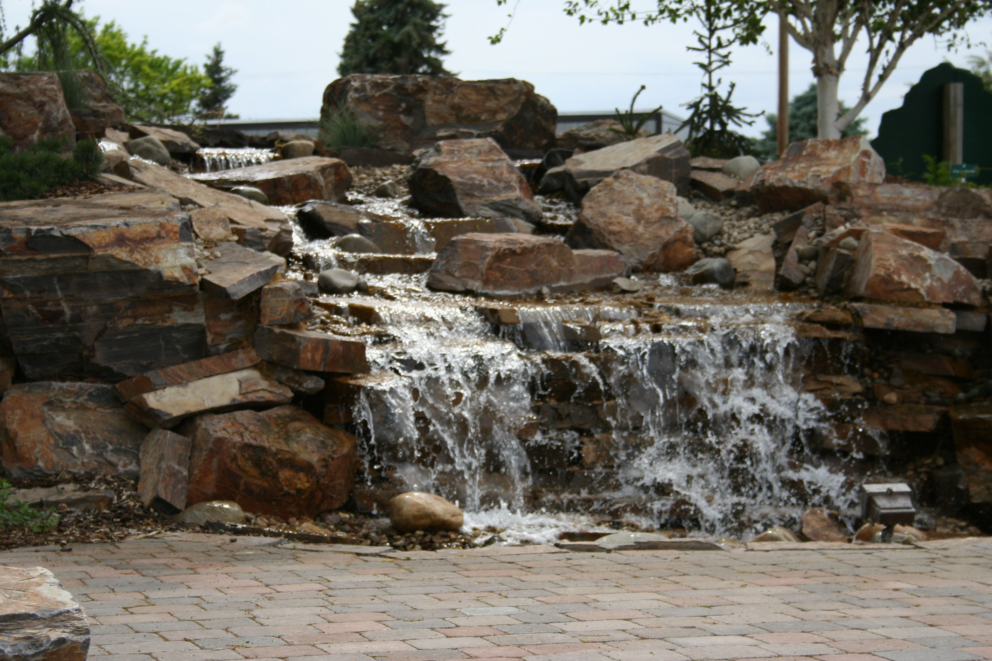 Pondless Water Features Our Work Pinterest