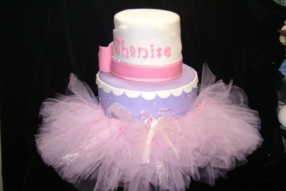 tutu birthday baby shower cake ballerina tutu baby shower ideas