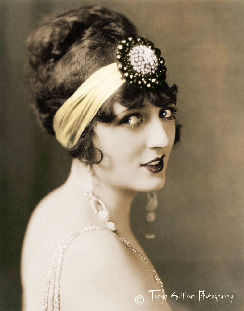 1920s flapper fashion | Long Hair and Styles | Pinterest
