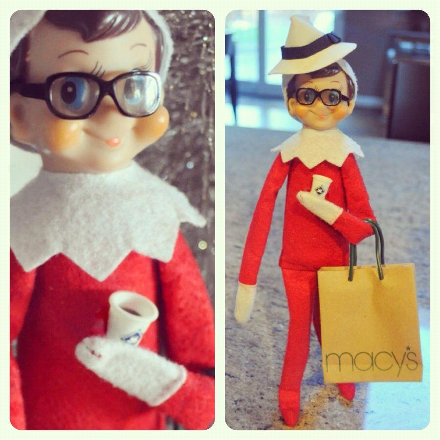 Elf on the shelf Elf on the Shelf Ideas Pinterest