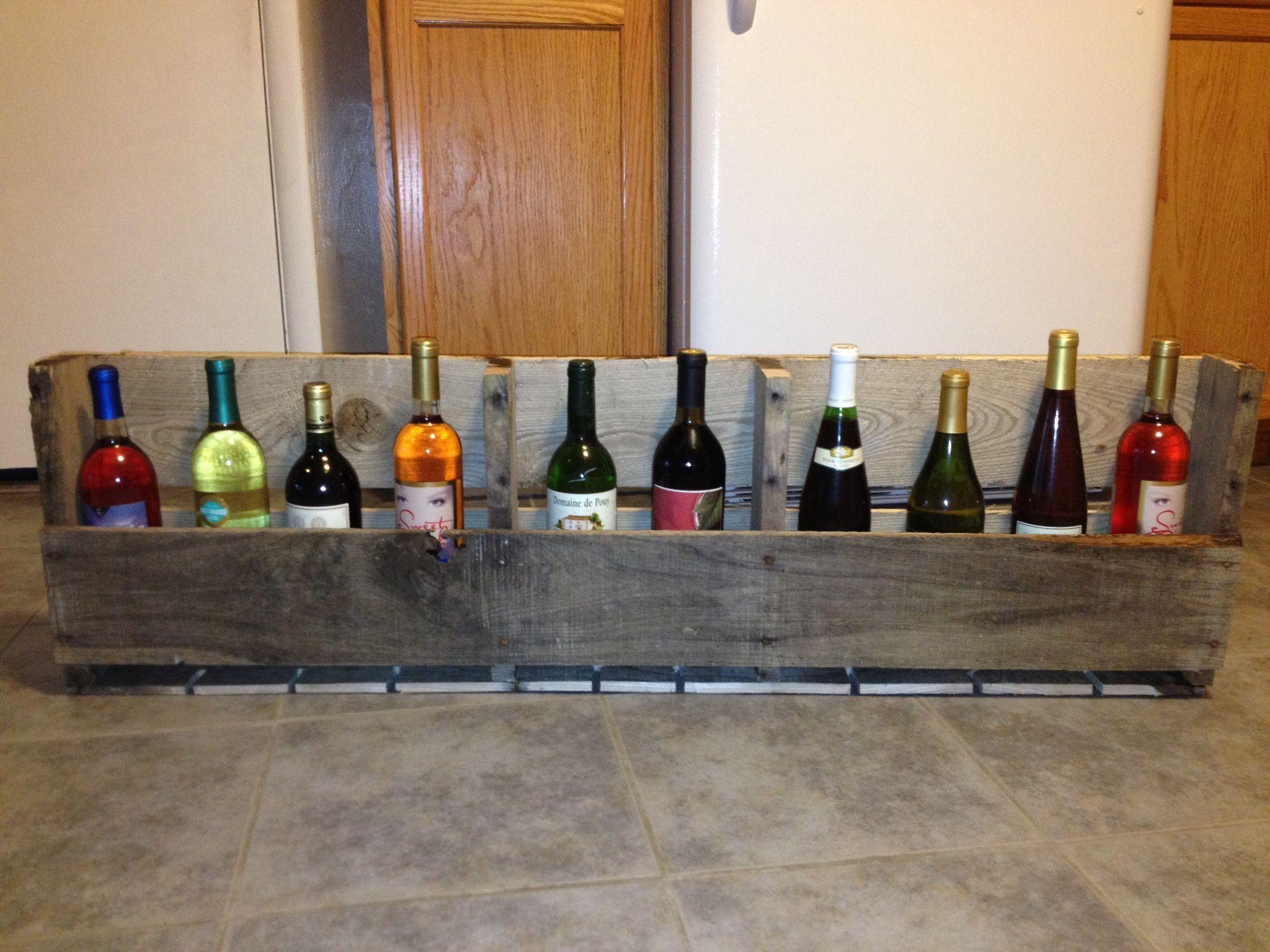Diy Wine Rack Diy For The Home Pinterest