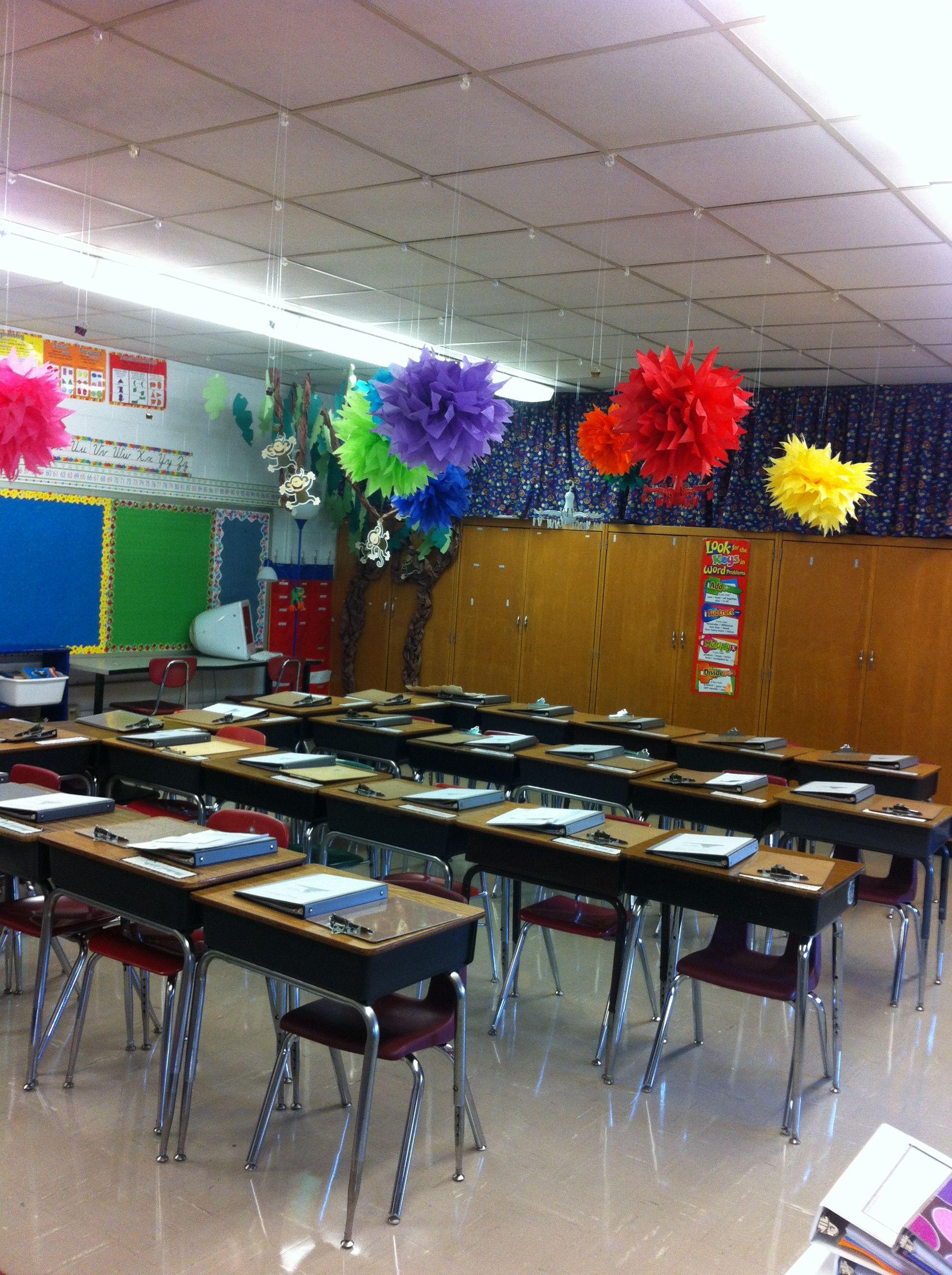 Innovative Classroom Design : Ceiling classroom decorations innovative