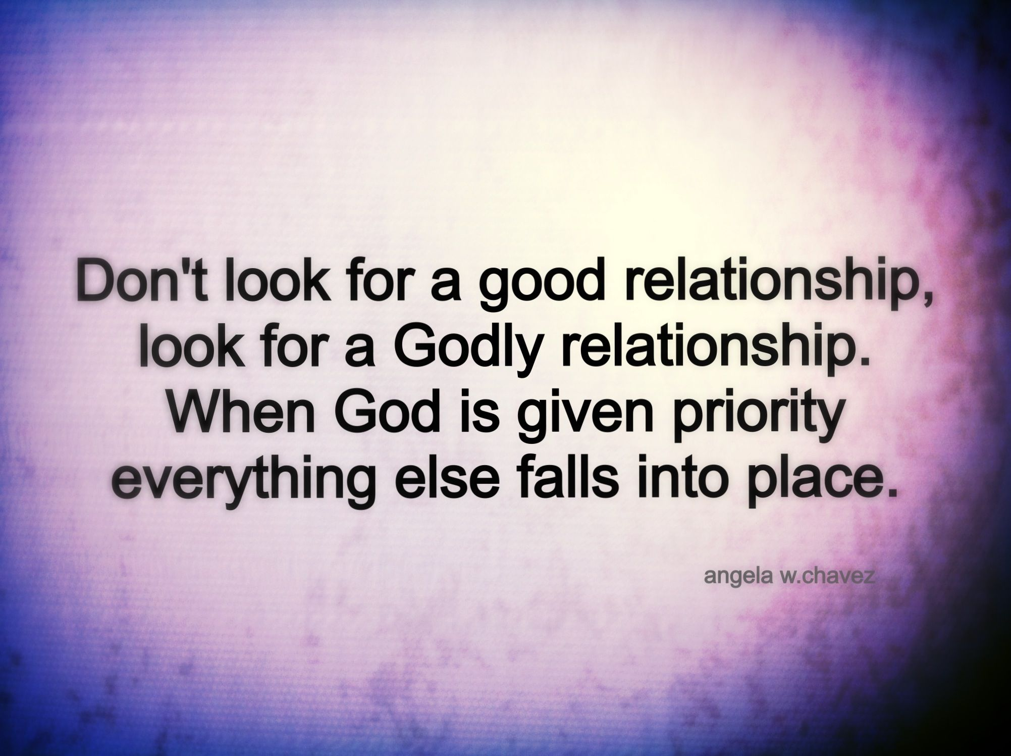 godly dating rules