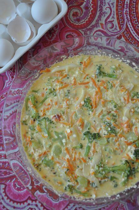 Pastel De Brocoli Y Zanahoria Recetas De Comida
