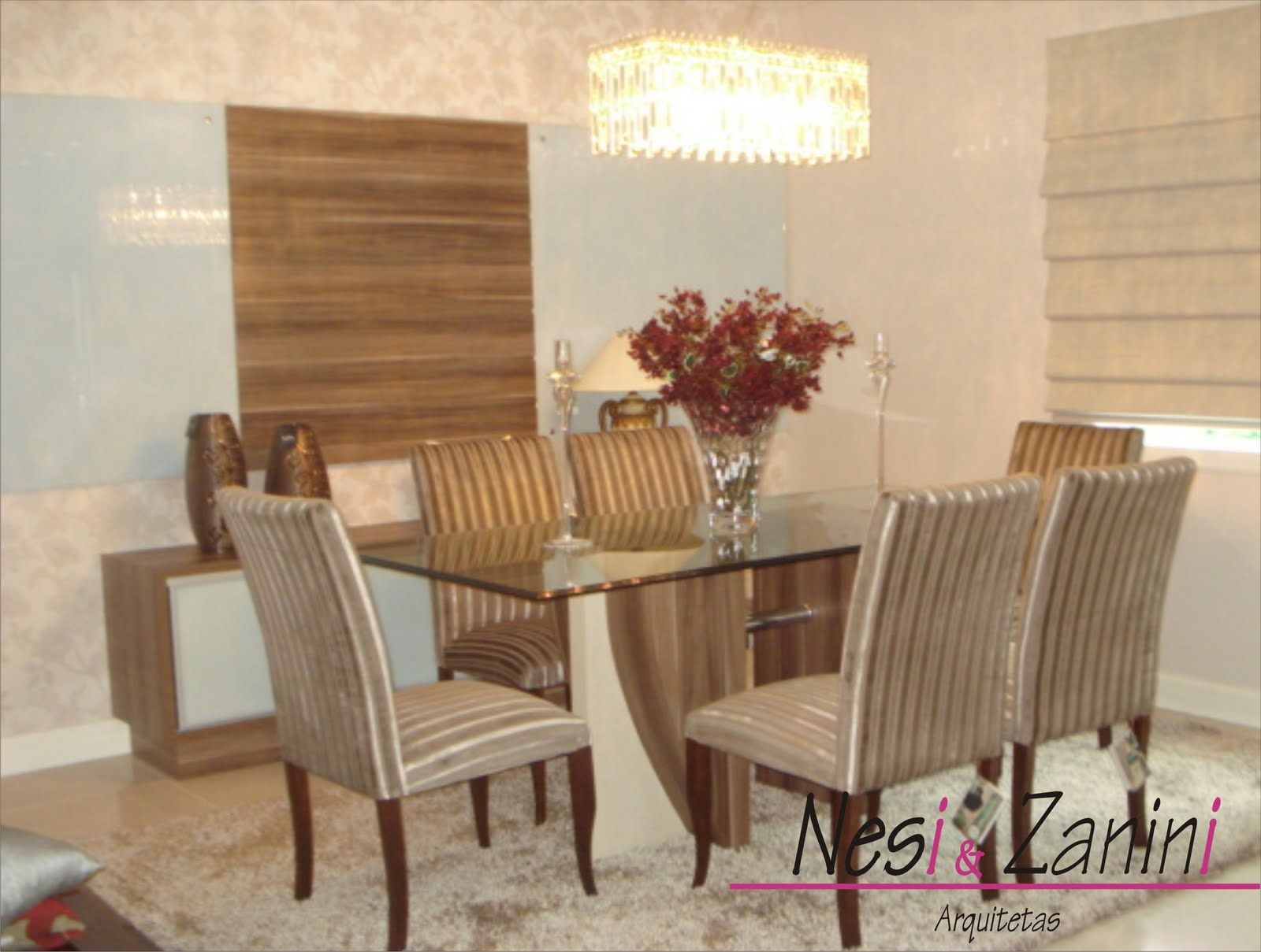 Sala de Jantar Simples Papel de Parede #9F2C66 1600x1209