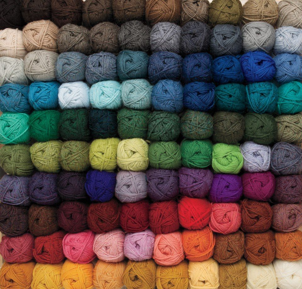 Knit Picks : Knit Picks Wool of the Andes Worsted made with yarn Pinterest