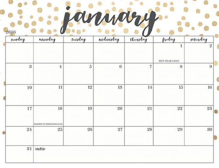 Cute Calendar Template Solarfm