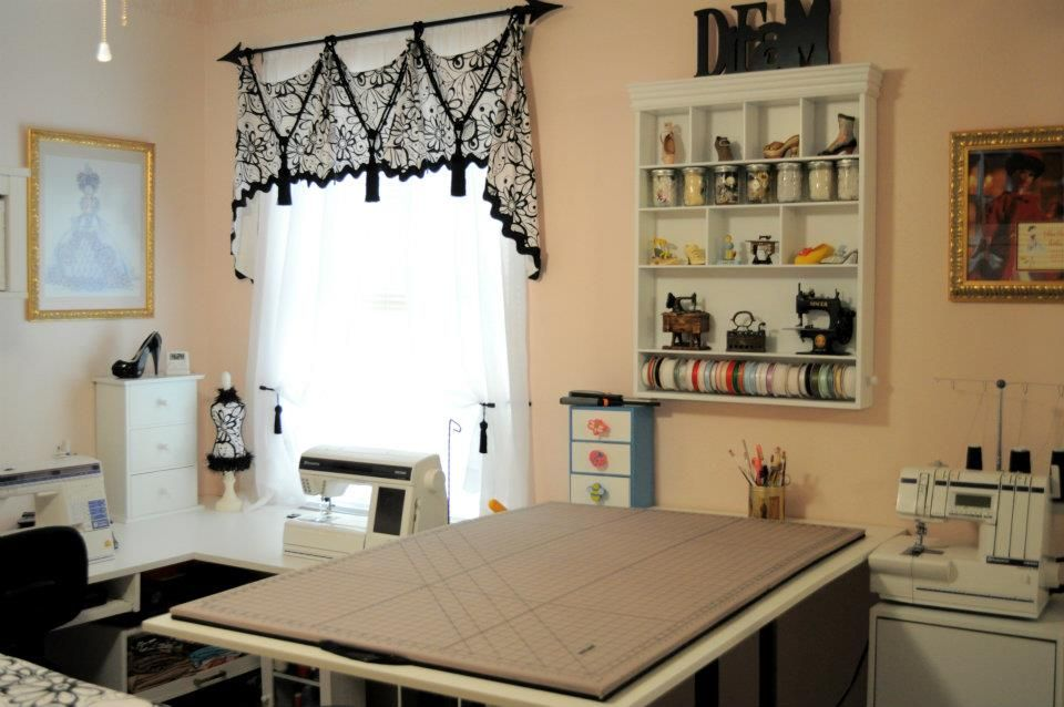 Sewing Room How Elegant Craft Rooms Sewing Storage