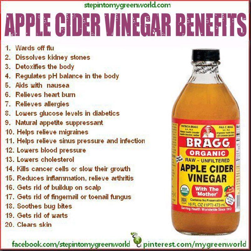 Uses Of Natural Apple Cider Vinegar