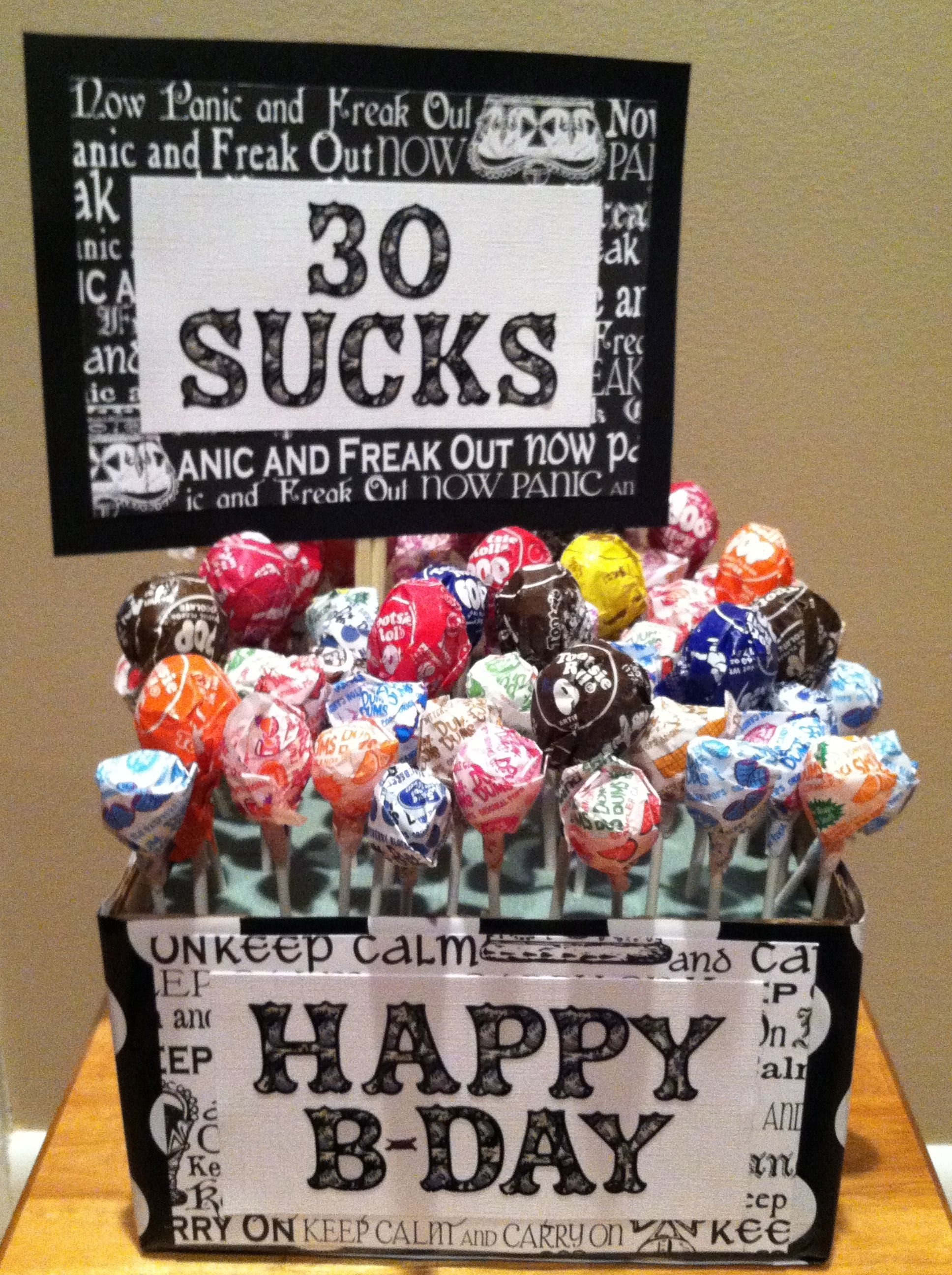 30th birthday idea gifts to give pinterest for 30th birthday party decoration ideas